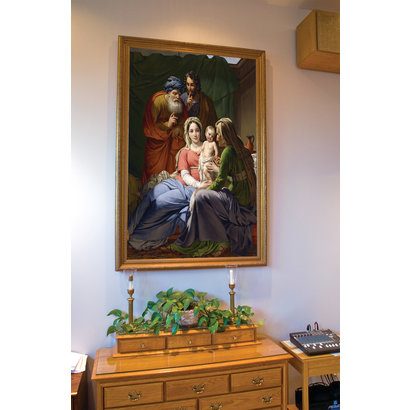 Holy Family with Sts. Joachim and Anne, Canvas