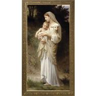 L'Innocence (Bouguereau), Canvas, 24x48