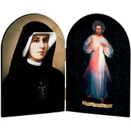 Divine Mercy & Sr. Faustina, 4x6