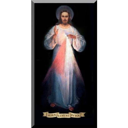 Divine Mercy (Vilius Original), Wall Plaque, 8x16