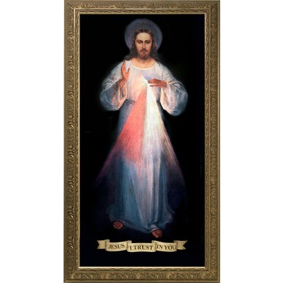 Divine Mercy (Vilnius Original), Canvas, 12x24