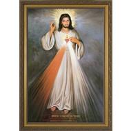 Divine Mercy & Sacred Heart, 8x12
