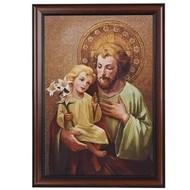 """St. Joseph & Baby Jesus, 27"""""""