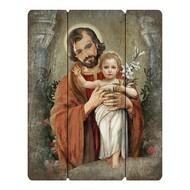 "St. Joseph, 15"" Plaque"