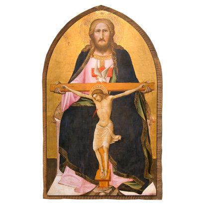 Holy Trinity (Gaddi), 10.5x17