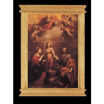 Holy Family and Holy Trinity (Murillo), 20x30