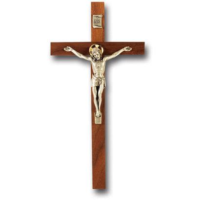 Walnut Crucifix