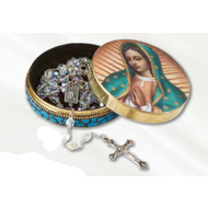 Our Lady of Guadalupe Rosary Tin