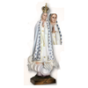 """Our Lady of Fatima 40"""" Blue Ornamentation Made in Portugal"""