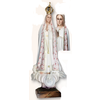 "Our Lady of Fatima 40"" Pink Ornamentation Made in Portugal"