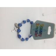 Blue Rosary Braclet