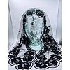 Fatima Chapel Veil, Black, Triangular