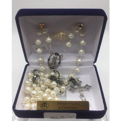 Pearl Green Rosary
