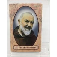 Padre Pio Relic Card