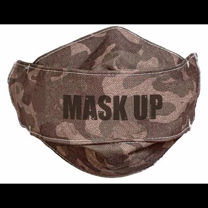 Face Mask - Mask Up Camo