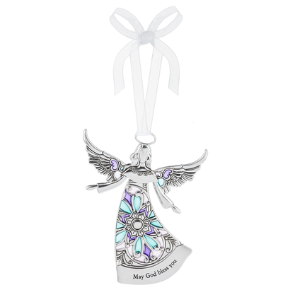 Angel Ornament- May God Bless You