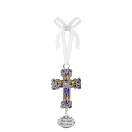Cross Ornament- May God Bless You