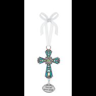Cross Ornament- You are never alone