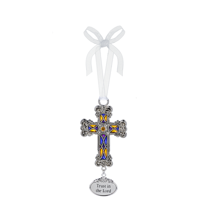 Cross Ornament- Trust in the Lord