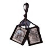 O.L of Mont Carmel Brown Scapular with Medal