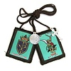 St. Michael Brown Scapular with Crucifix