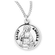 St. Angela Sterling Silver Medal