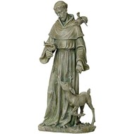 St. Francis with Birds and Deer