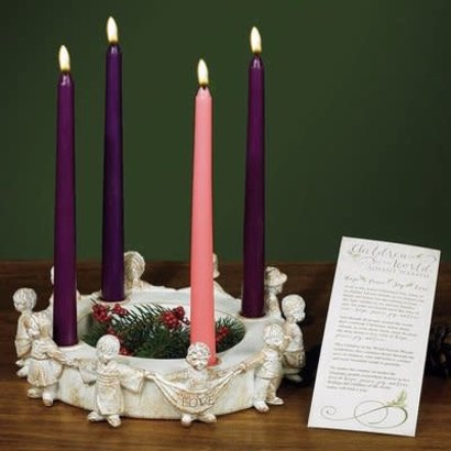 Children of the World Advent Wreath