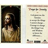Prayer for Serenity, Laminated Holy Card, Printed in Italy