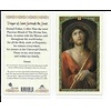 Prayer of Saint Gertrude the Great Laminated Holy Card, Printed in Italy