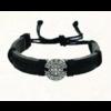 Black St. Benedict Slip Knot Bracelet