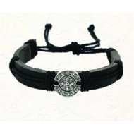 St. Benedict Slip Knot Bracelet