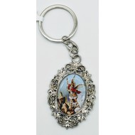 St. Michael Key Ring
