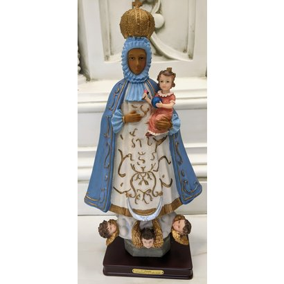 "Our Lady of Regla, 18.5"", Hand-Painted"