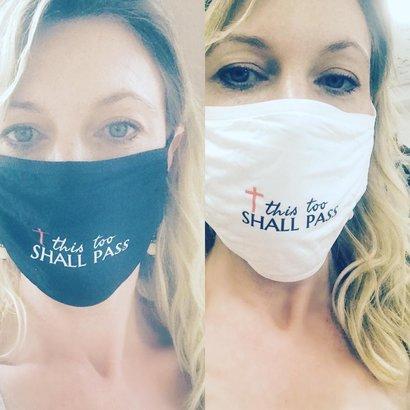 Mask: This Too Shall Pass - White