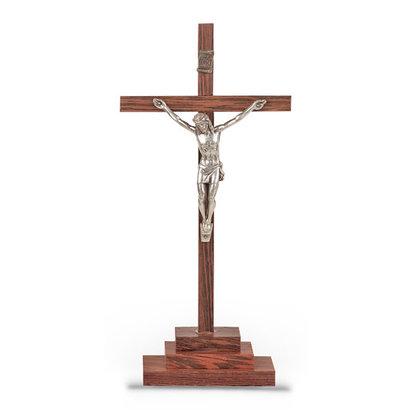 """Crucifix on Base, 6.75"""""""
