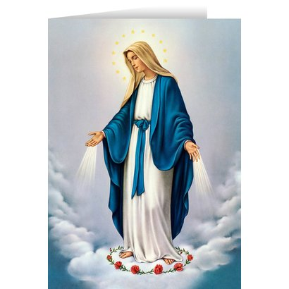 Our Lady of Grace Blank Card