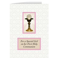 For a Special Girl on her first Holy Communion