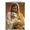 Blank Greeting Card: The Good Shepherd