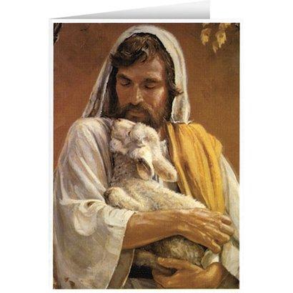 Blank Greeting Card: The Good Shepherd