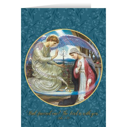 Blank Greeting Card - The Annunciation