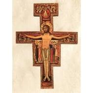 San Damiano Cross Blank Card