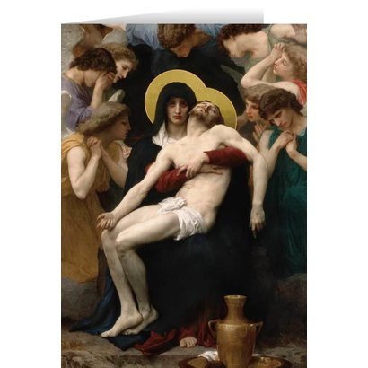 Blank Greeting Card: La Pieta