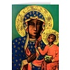 Blank Greeting Card: Our Lady of Czestochowa