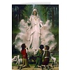 Blamk Greeting Card: Our Lady of Fatima in Cloud