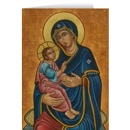 Our Lady of Good Health Blank Greeting Card