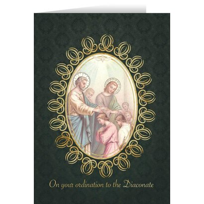 On YOur ordination to the Diaconate Card