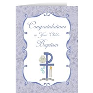 Childs Baptism Greeting Cards