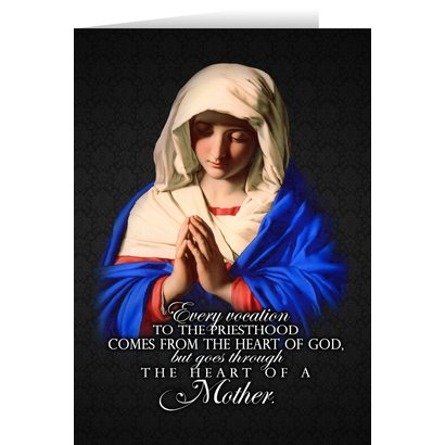 Vocation to the Priesthood Greeting Card