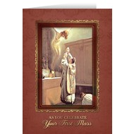 First Mass Ordination Blank Greeting Card